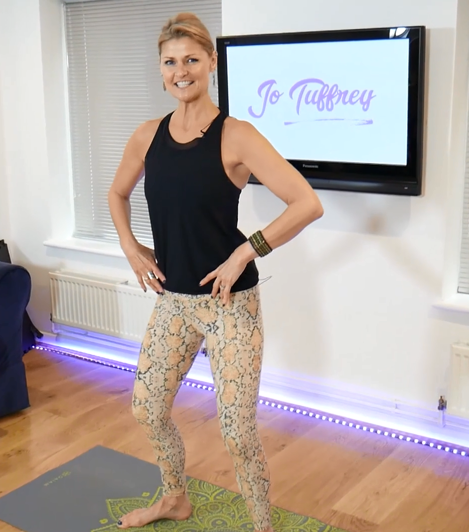 Jo Tuffrey's Weekly Workout Club - pilates at home for all