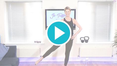 A basic flow pilates workout