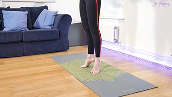 Improving your balance with pilates at home