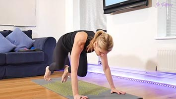 Pilates at home - getting you fitter!